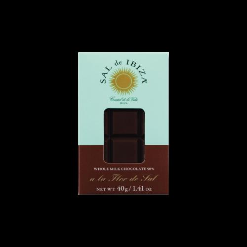Chocolate Negro 70%  Sal de Ibiza